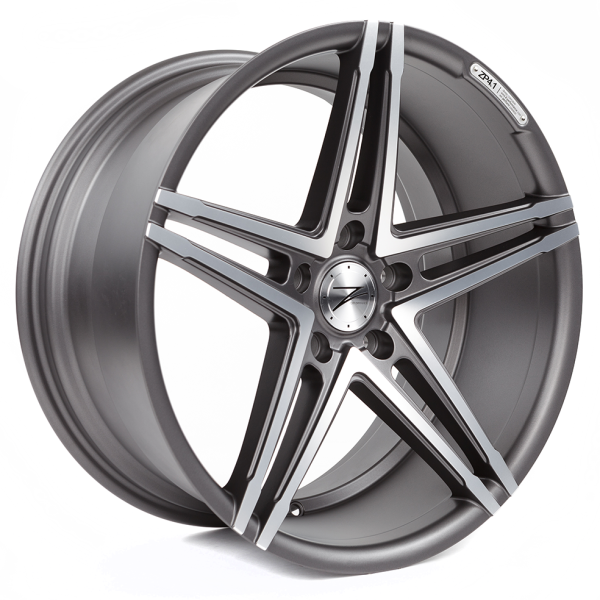Z-performance ZP4.1 Deep Concave Matte Gunmetal/Polish 19""