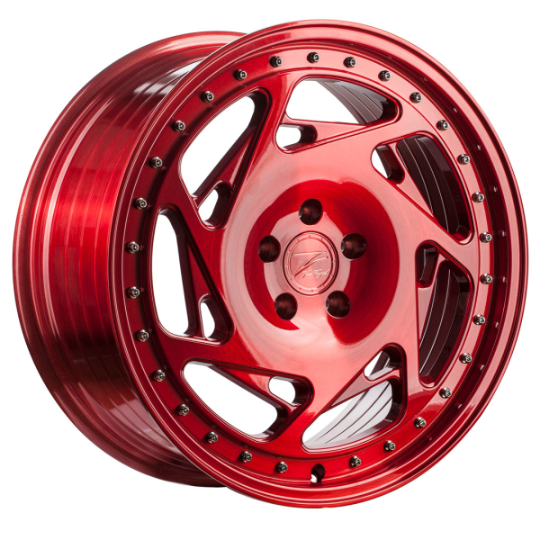 Z-performance ZP5.1 Deep Concave Brushed Candy Red 19""