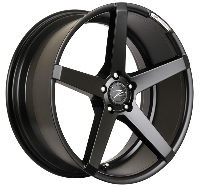 Z-performance ZP6.1 Deep Concave Matte Black 19""