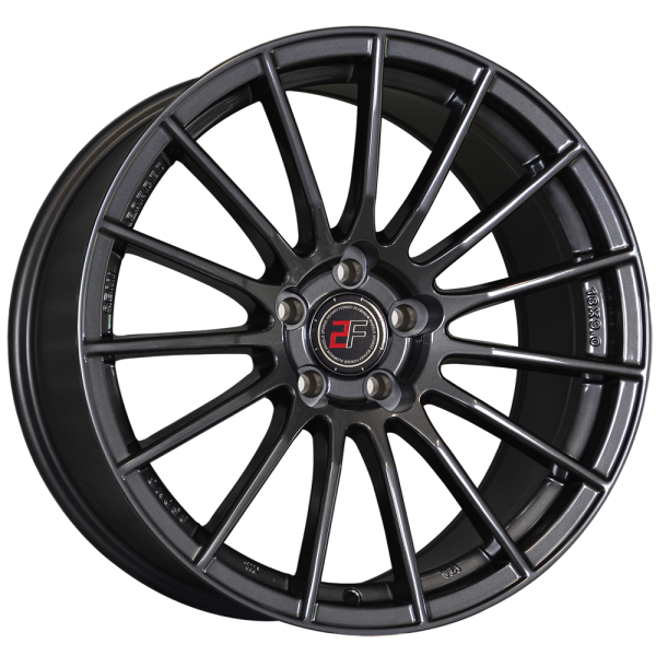 2 Forged ZF1 Gunmetal 18""