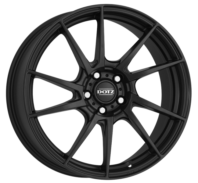 Dotz Kendo dark Black matt 19""
