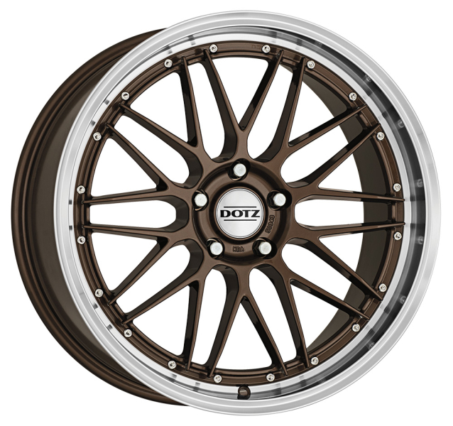 Dotz Revvo Bronze/polished lip 17""