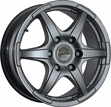 Avus GRIZZLY ANTHRACITE 17""