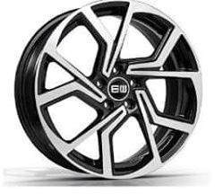 ELITE Wheels Cyclone sort/poleret 18""