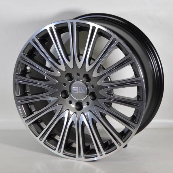 ELITE Wheels Turbine antrasit/poleret 19""