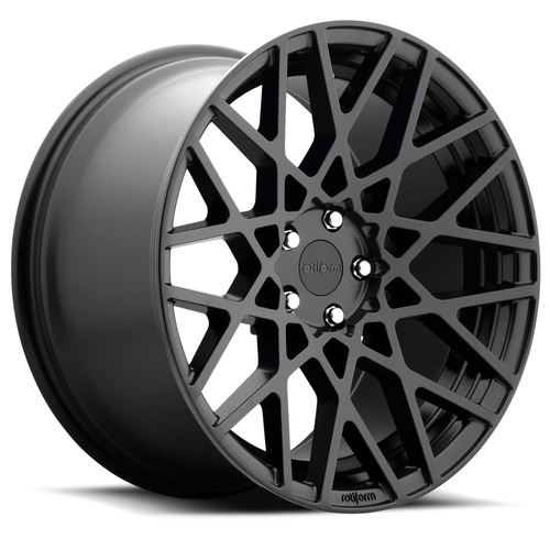 Rotiform BLQ Ø66,6 w mat Sort 19""