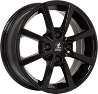 It wheels Alisia Gloss Black GLOSS BLACK 15""
