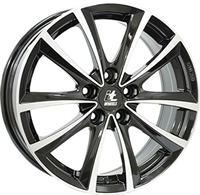 It wheels Elena Black - Polished BLACK / POLISHED 18""