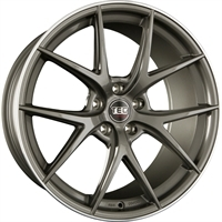 TEC by ASA Gt6 Dark Grey - Polished Lip DARK GREY - POLISHED LIP 18""