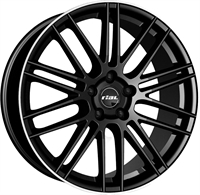 Rial Kibo Black & Polished BLACK & POLISHED 17""