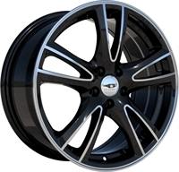 League LG279 Gloss Black & Polished GLOSS BLACK & POLISHED 15""