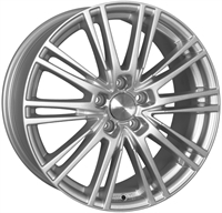 Wheelworld Wh18 Race Silver RACE SILVER 17""