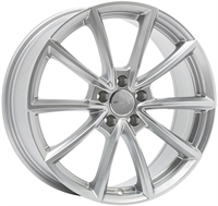 Wheelworld Wh28 Race Silver RACE SILVER 17""