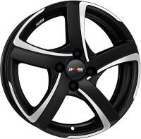 Alutec Shark racing schwarz Front 16""