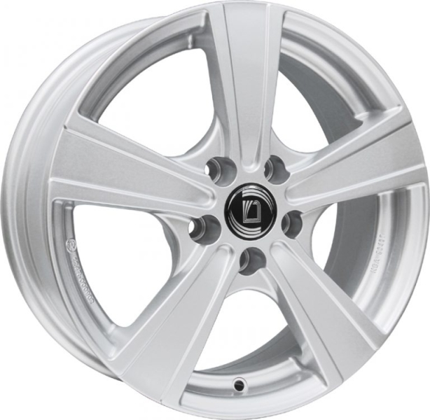 Diewe Wheels Matto pigmentsilber 16""
