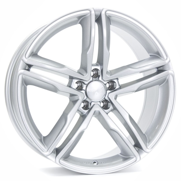 Wheelworld WH11 Arktic Silber lackiert 17""