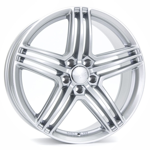 Wheelworld WH12 Arktic Silber lackiert 18""
