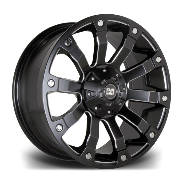 RIVIERA XTREME RX500 BLACK POLISHED 18""