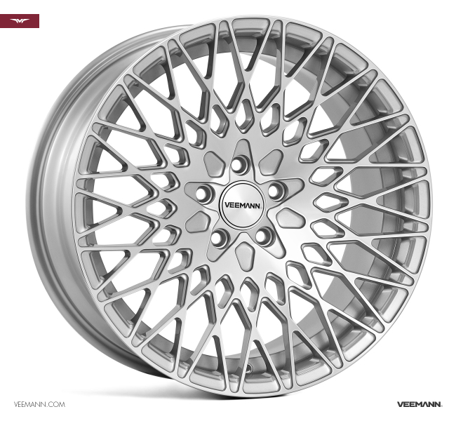 Veemann VC540 Silver Machined 18""