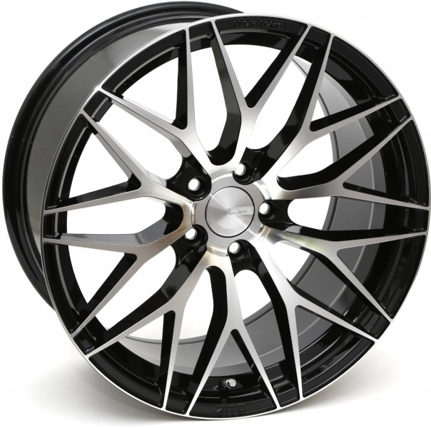 ZITO ZF01 Gloss Black Face Polished 19""