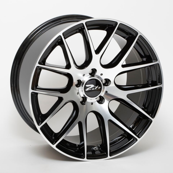 ZITO 935 Gloss Black Face Polished 19""