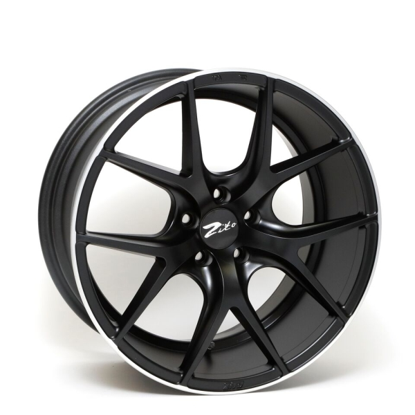 ZITO ZS05 Satin Black Lip Polished 19""